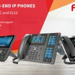 Introducing Fanvil X7, X7C and X210 high-end IP phones