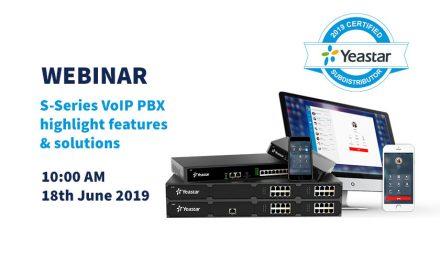 Yeastar hosts S-Series VoIP PBX webinar