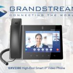 Grandstream releases new smart IP video phone GXV3380