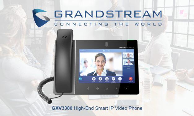 Grandstream releases new smart IP video phone GXV3380