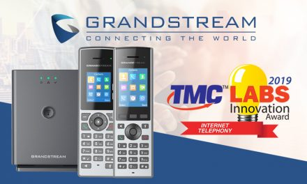 Grandstream wins the 2019 TMC Labs INTERNET TELEPHONY Innovation Award!