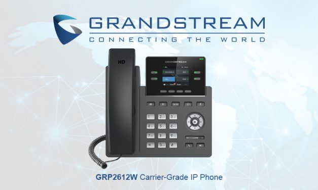 Meet the Grandstream GRP2612W carrier-grade IP phone