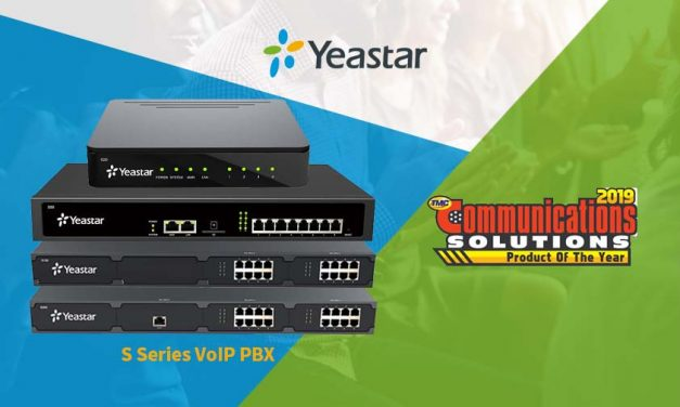 Yeastar wins the 2019 Communications Solutions Product of the Year Award