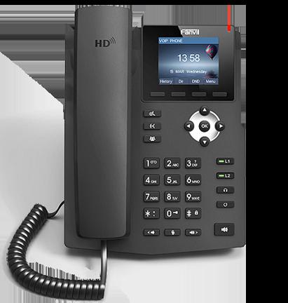 Fanvil X3G PoE Gigabit VoIP Phone
