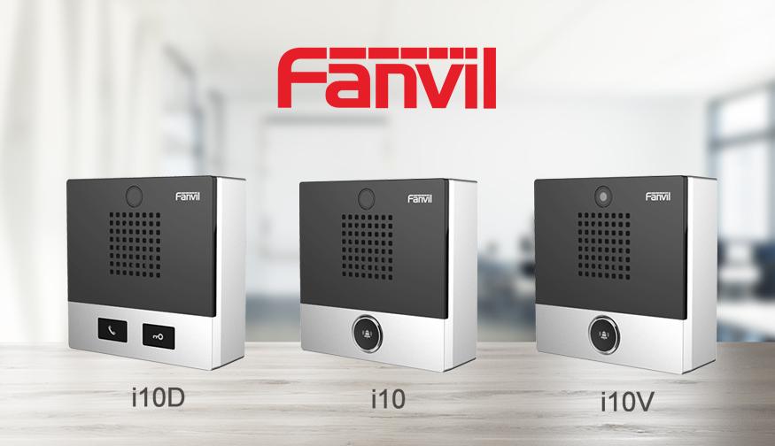 What's new in the Fanvil  i10 SIP mini intercom series?