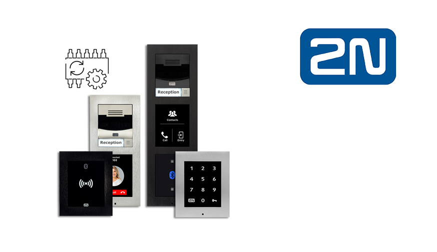 2N firmware v2.27 brings innovation to access control in buildings