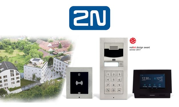 2N access control units feature in award winning buildings