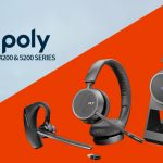 Poly release Voyager 4200 and 5200 office headsets