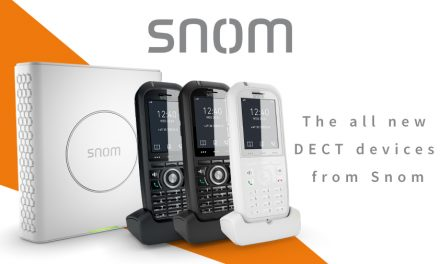 Say hello to the all new Snom DECT devices