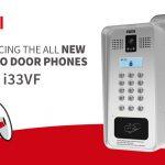 Fanvil introduces the all new i33V and i33VF SIP Video Door Phones