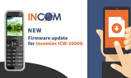 Incominc ICW-1000G Firmware Update V1.01.07