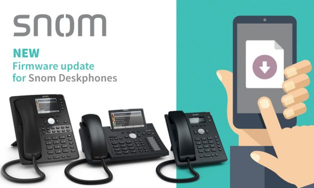 Snom releases new firmware version 10.1.49.11 for Snom Deskphones
