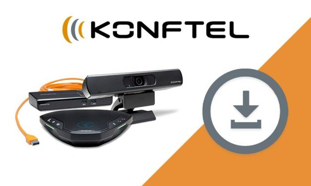 Konftel release software update for Cam20, along with product updates for Ego, Cam20 and OCC Hub