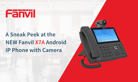 Fanvil Hosts Sneak Peek Webinar on the X7A IP Phone with Camera