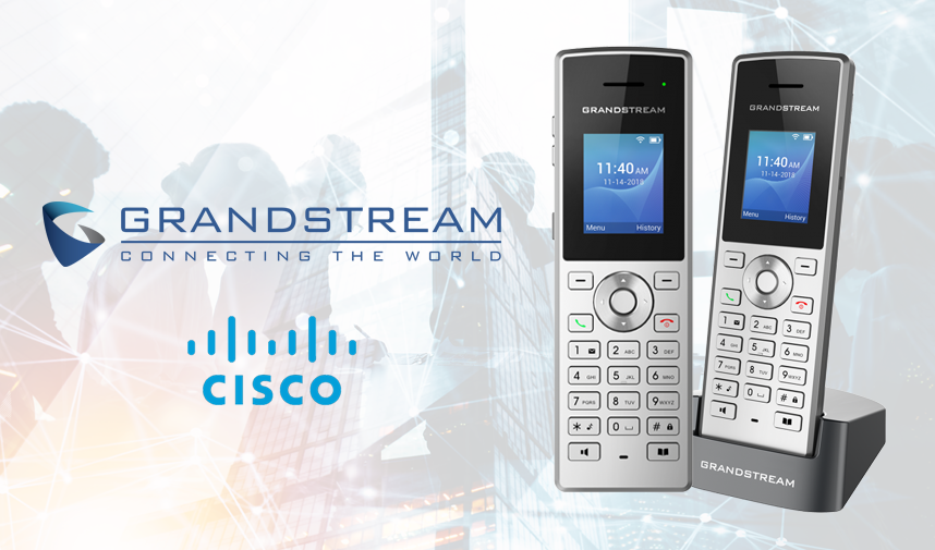 Grandstream WP810 Cordless WiFi IP Phone is Now Compliant with Cisco's BroadWorks