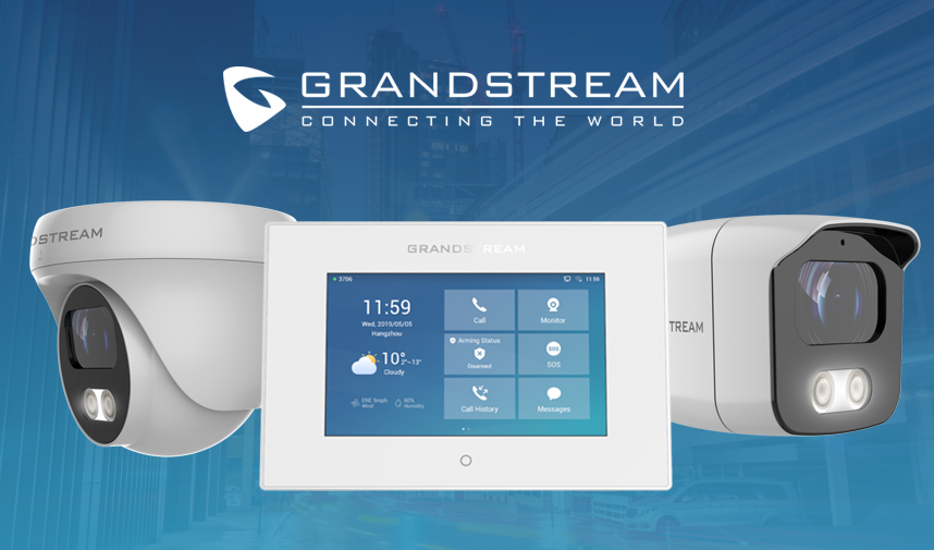 Grandstream Facility and Surveillance Products Webinar