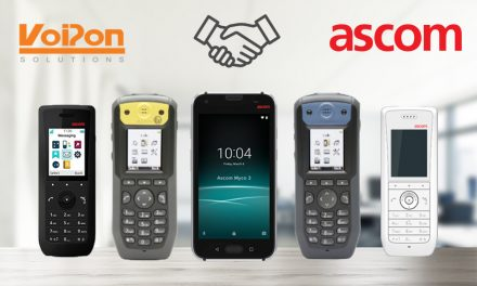 VoIPon Solutions announced as UK distributor for Ascom mobile telecommunications solutions