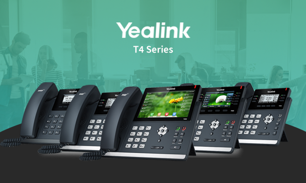 Enrich Collaboration and Improve Productivity with Yealink T4 Series IP Phones
