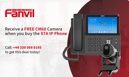 FREE Fanvil CM60 Camera when you buy the X7A IP Phone