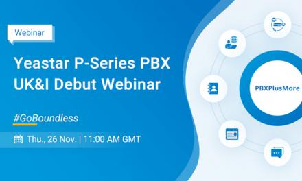 Yeastar P-Series IP PBX UK & Ireland Webinar