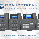 Grandstream GRP2600 Essential IP Phone Series Features and Deployment Scenarios