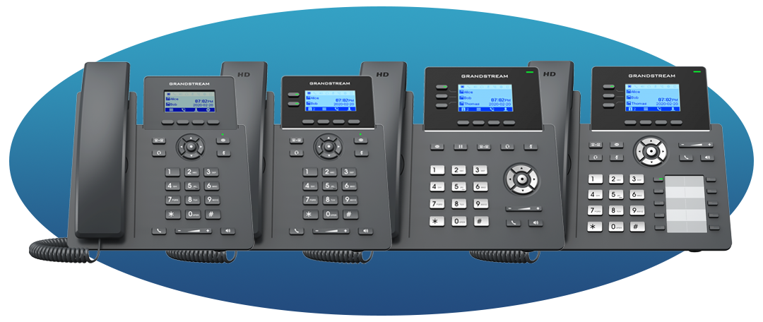Grandstream GRP2600 Essential IP Phones