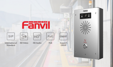 Help Strengthen your Security with Fanvil i16V SIP Video Intercom