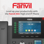 Level Up Your Productivity With The Fanvil X6U High-end IP Phone