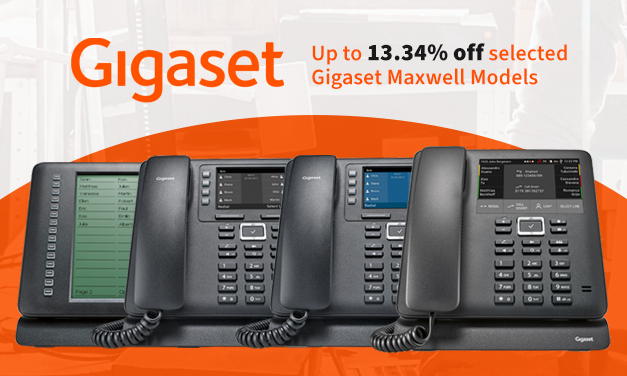 Savings on Selected Gigaset Maxwell VoIP Devices