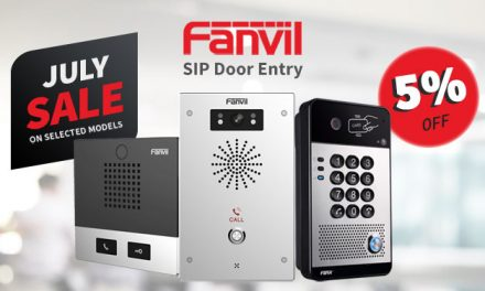 Savings to be had on selected Fanvil SIP Door Entry models this July