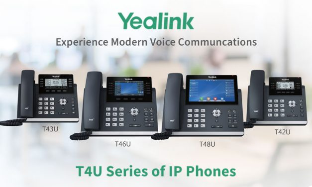 Yealink Release T4U Series of IP Phones