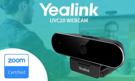 Yealink UVC20 is now Zoom certified