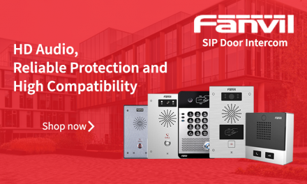 HD Audio, Reliable Protection and High Compatibility with Fanvil SIP Door Intercom