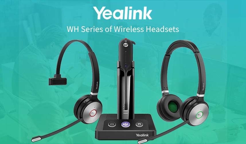 Get The Yealink WH Series Of Wireless Headphones