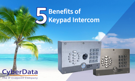 Cyberdata – 5 Key Benefits of Keypad Intercoms