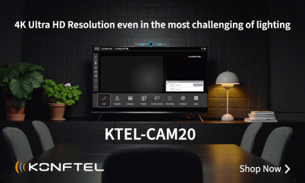 Shop Konftel Cam20 for the perfect huddle room camera!