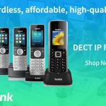 Yealink Cordless series of DECT IP Phones
