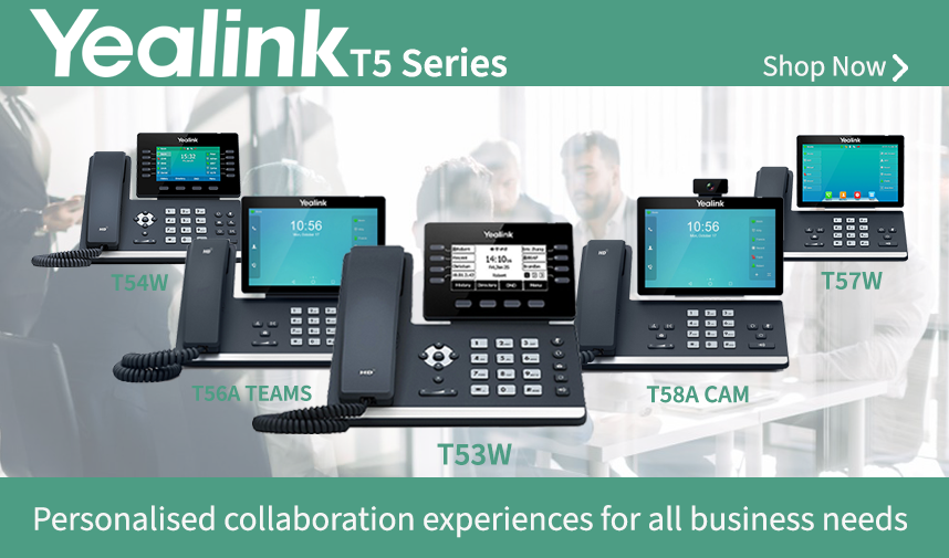 Discover the industry leading technology of Yealink T5 Series of IP Phones
